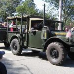 Army truck in the parade
